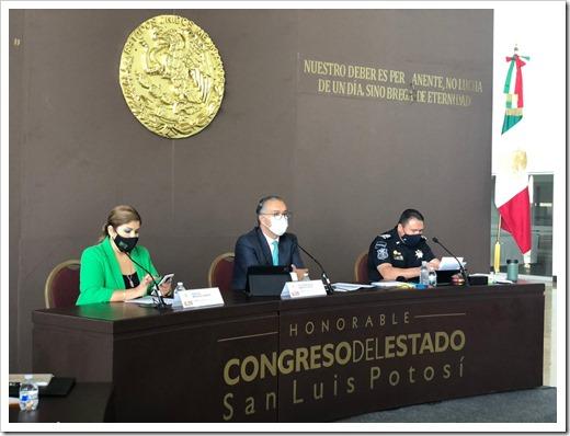 Comparecencia Secretaría de Seguridad Pública.