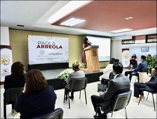 Dip. Paola Arreola Nieto