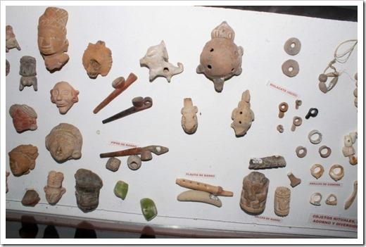 IMAGEN NO.01-  Objetos arqueológicos de la cuenca del río Verde