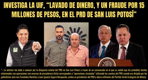 """2.- """"PURGA"""" EN EL PRD DE SAN LUIS POTOSÍ: EL CEN """"REVENTÓ A LA PANDILLA GALLARDO"""""""