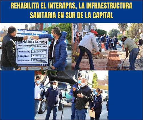 Copia de REHABILITA EL INTERAPAS, LA INFRAESTRUCTURA SANITARIA EN SUR DE LA CAPITAL