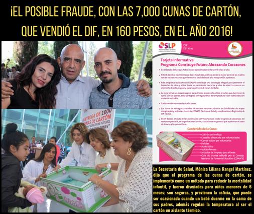 ¡EL FRAUDE CON LAS 7,000 CUNAS DE CARTÓN, QUE VENDIÓ EL DIF EN 160 PESOS, EN EL AÑO 2016!
