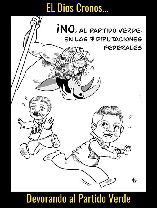 EL DIOS CRONOS DEVORANDO AL PVEM