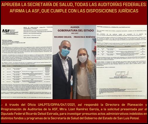 APRUEBA SALUD AUDITORIAS FEDERALES
