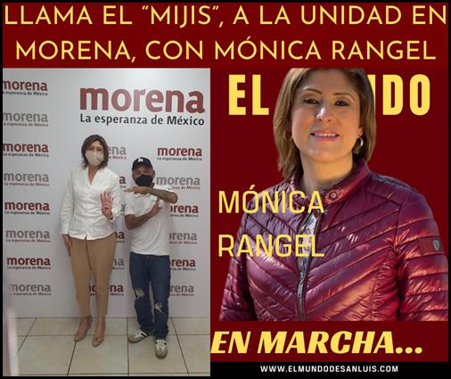 """LLAMA EL """"MIJIS"""", A LA UNIDAD EN MORENA, CON MÓNICA RANGEL"""