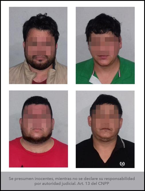 10032021 -- VINCULADOS A PROCESO- HOMICIDIO CALIFICADO - PRESIDENTE  COPARMEX SLP
