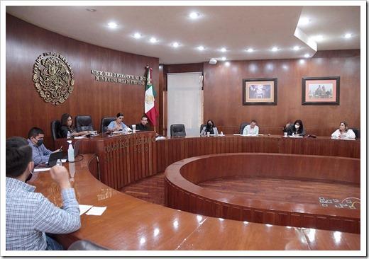 Comisiones unidas Gobernación y Justicia