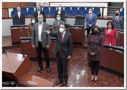Magistrado numerario del TEJA, Jorge Alejandro Vera Noyola