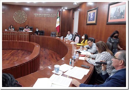 Reunión de Comisiones Unidas