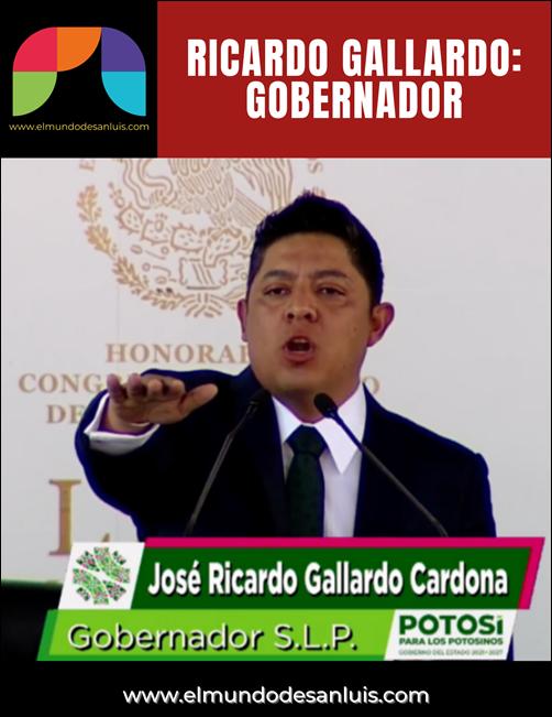 RICARDO GALLARDO GOBERNADOR