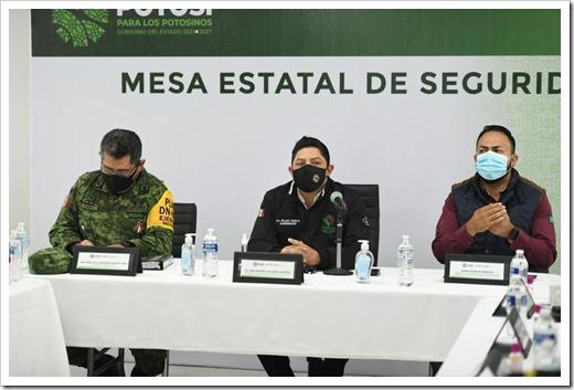 061021 0075, ENCABEZA EL GOBERNADOR, MESA DE SEGURIDAD EN MATEHUALA (1)
