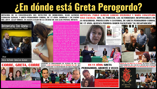 ¿En dónde está Greta Perogordo?