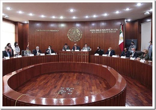 Instalación Comisión del Trabajo y Previsión Social 1